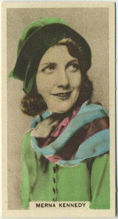 Merna Kennedy 1934 Cavanders