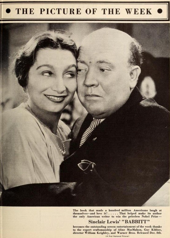 Aline MacMahon and Guy Kibbee