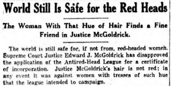 Above: Clipped from the New York Sun, June 23, 1932.