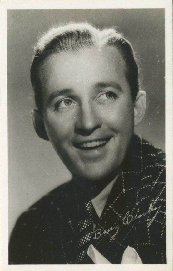 Bing Crosby 1940s EKC Postcard