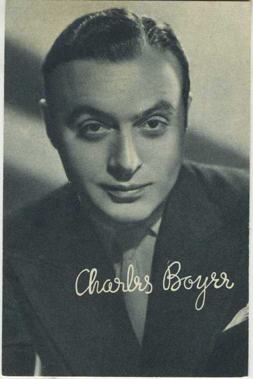 Charles Boyer Boys Cinema Postcard