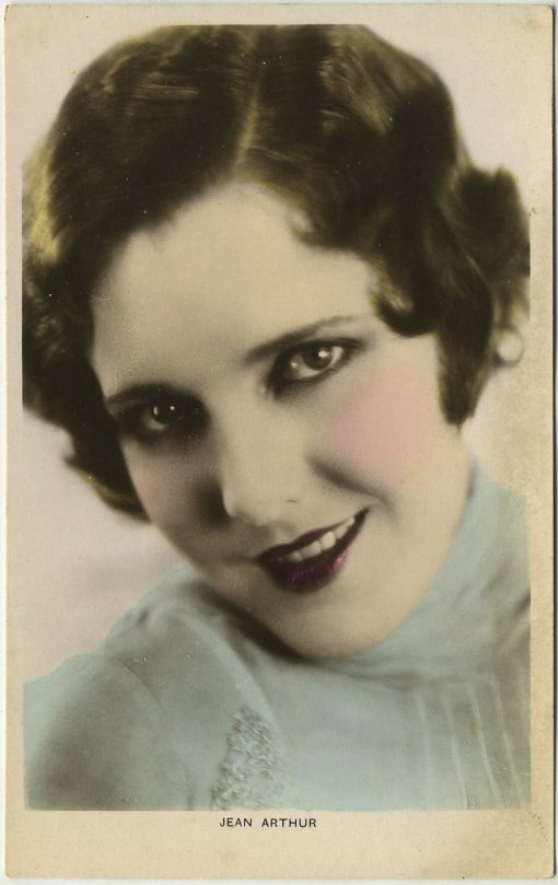 Jean Arthur Colourgraph Postcard