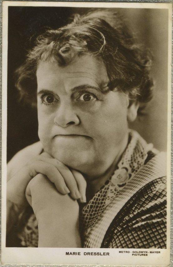 Marie Dressler 1930s RPPC