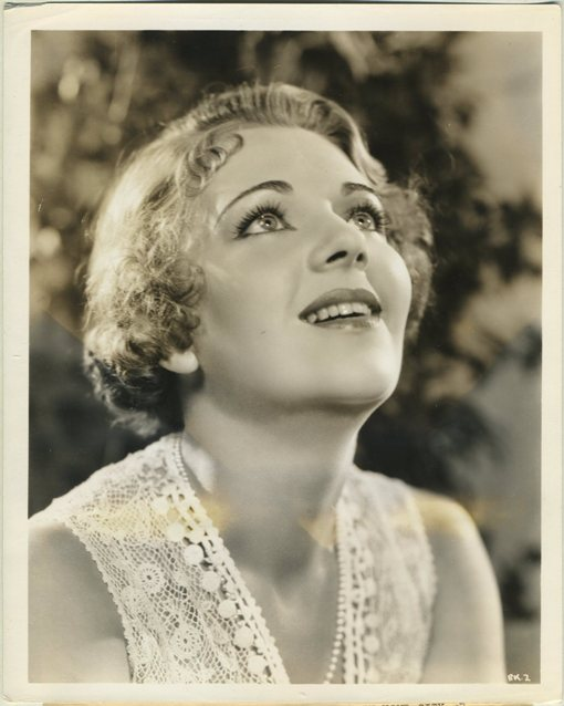 Ruby Keeler 1930s WB Promotional Photo