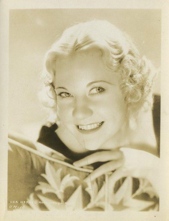 Una Merkel 1930s MGM Promotional Photo