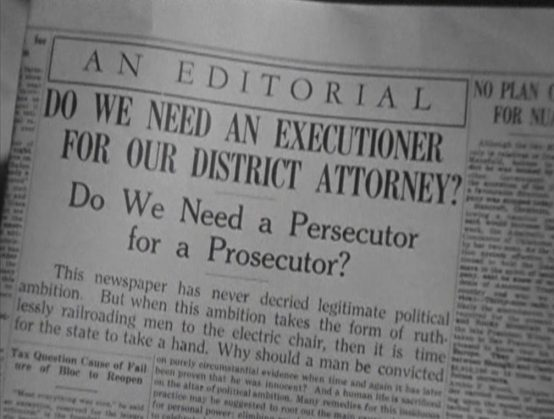 Attorney for the Defense 1932