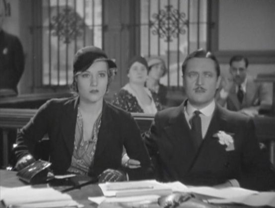 Constance Cummings and Edmund Lowe