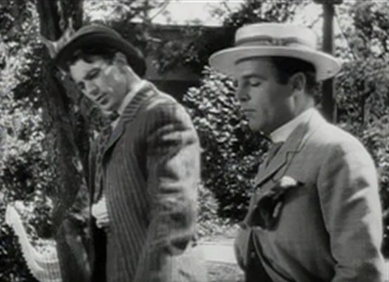 Gary Cooper and Neil Hamilton