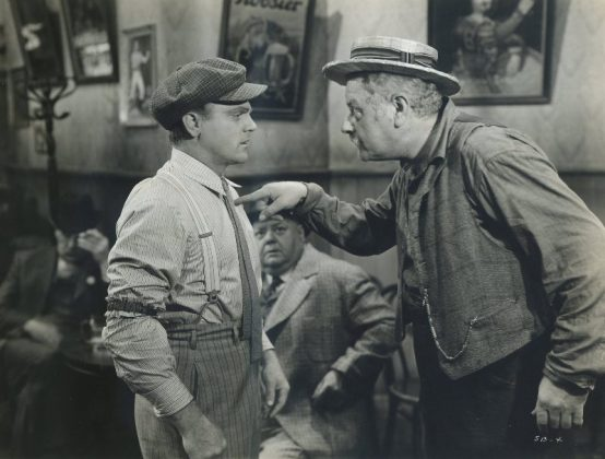 James Cagney and Alan Hale