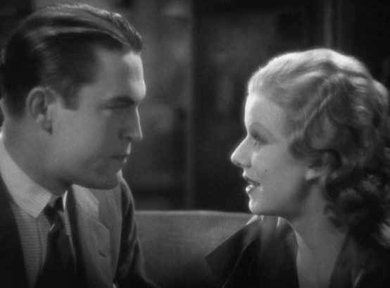 Chester Morris and Jean Harlow
