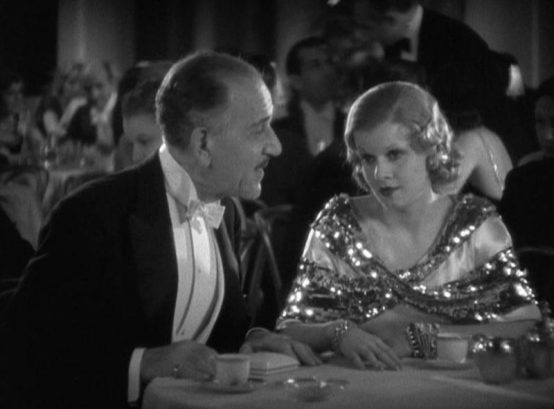 Henry Stephenson and Jean Harlow