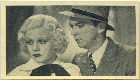 Jean Harlow and Lee Tracy 1940 Cinema Cavalcade