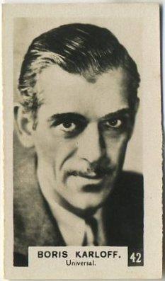 Boris Karloff 1934 Bridgewater