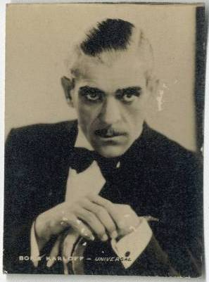 Boris Karloff 1934 Real Photo Card