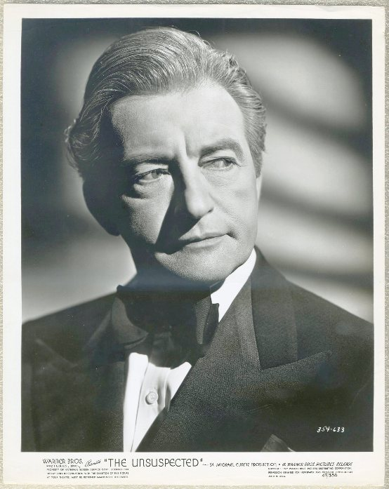 Claude Rains 1947 Promotional Still Portrait