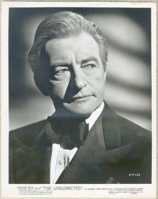Claude Rains 1947 Promotional Still Portrait