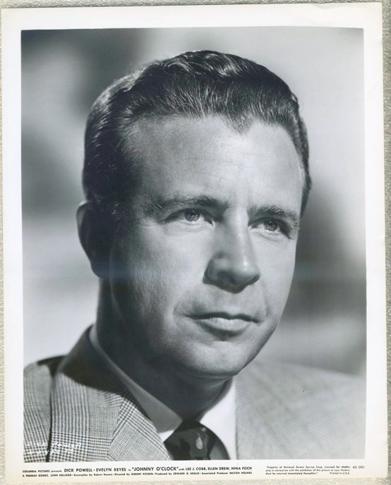 Dick Powell 1947 Promotional Still Photo