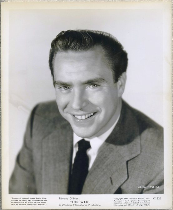 Edmond O'Brien 1947 Promotional Still Photo