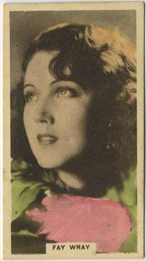 Fay Wray 1934 Cavanders