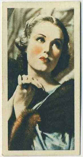 Fay Wray 1934 Godfrey Phillips Film Stars