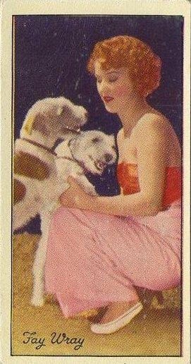 Fay Wray 1935 Carreras Famous Film Stars