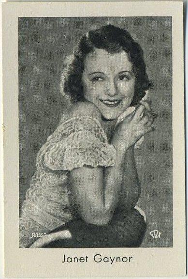 Janet Gaynor 1930s Josetti