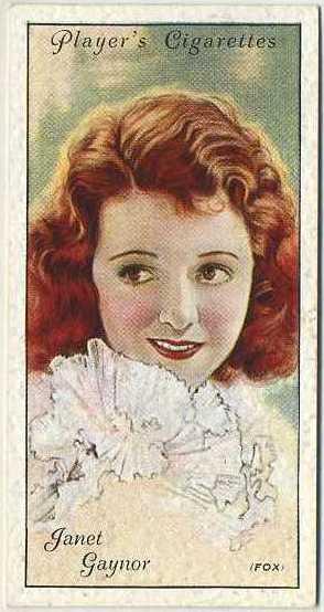 Janet Gaynor 1934 John Player