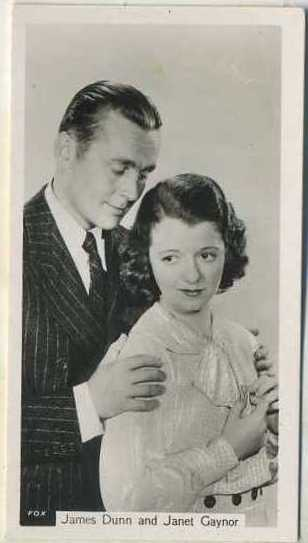 James Dunn and Janet Gaynor 1937 John Sinclair