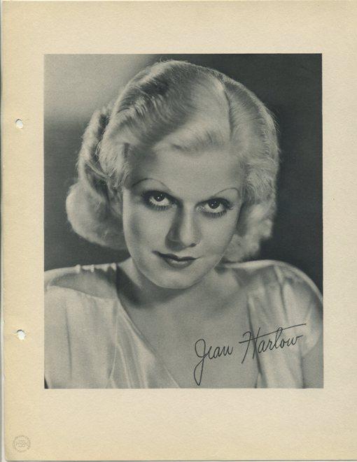 Jean Harlow 1933 Dixie Premium Photo