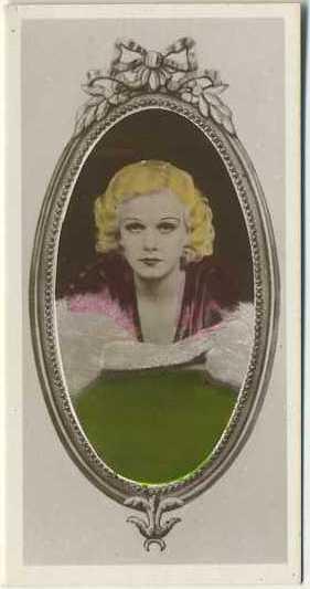 Jean Harlow 1934 Godfrey Phillips
