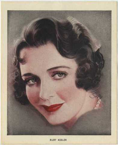Ruby Keeler 1930s Photoplay Premium by Earl Christy