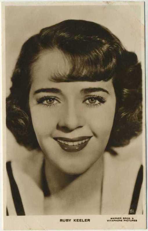 Ruby Keeler 1930s Picturegoer Postcard