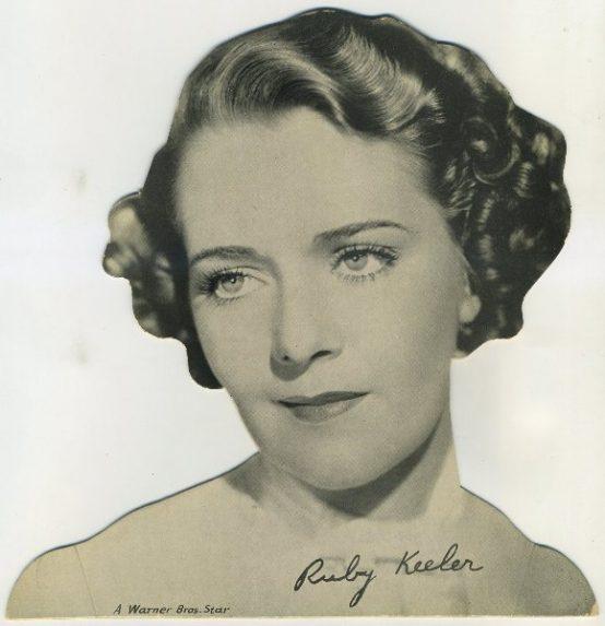 Ruby Keeler Quaker Oats Standee