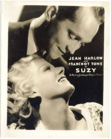 Franchot Tone and Jean Harlow