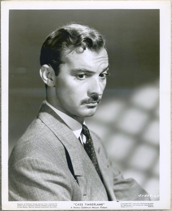 Zachary Scott 1947 Portrait