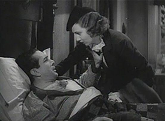 J. Carrol Naish and Margaret Callahan