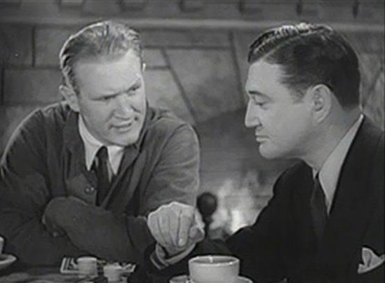 Joe Sawyer and Richard Dix