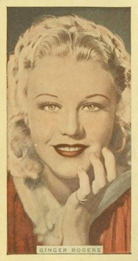 Ginger Rogers 1935 Godfrey Phillips