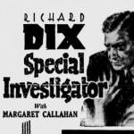 Special Investigator 1936 newspaper ad