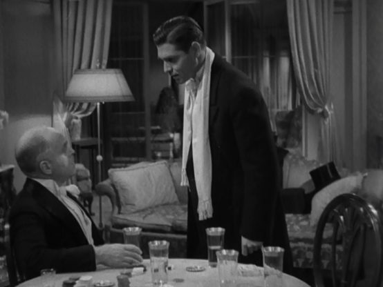 Grant Mitchell and Clark Gable
