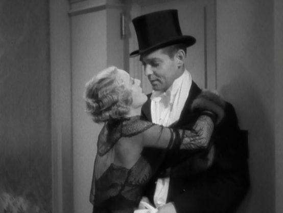Dorothy Mackaill and Clark Gable