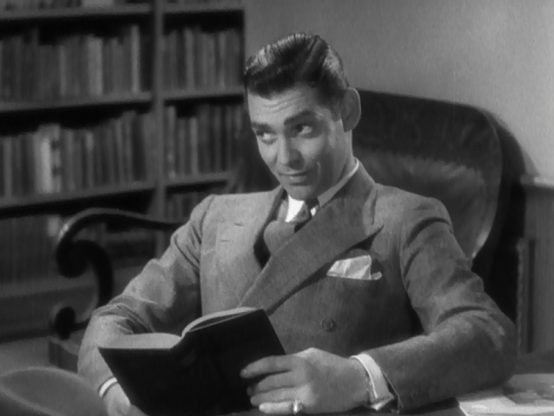 Clark Gable in No Man of Her Own