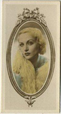 Carole Lombard 1934 Godfrey Phillips Stars of the Screen