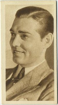 Clark Gable 1933 Sarony Cinema Stars