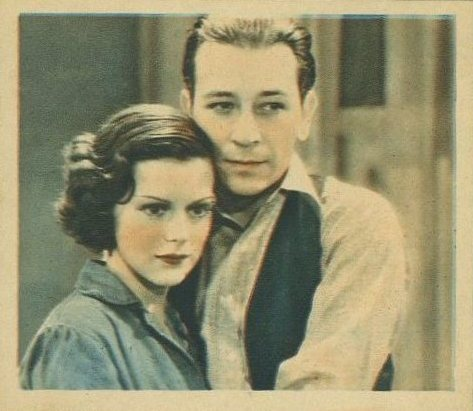 Helen Mack and George Raft 1934 Godfrey Phillips Shots from the Films
