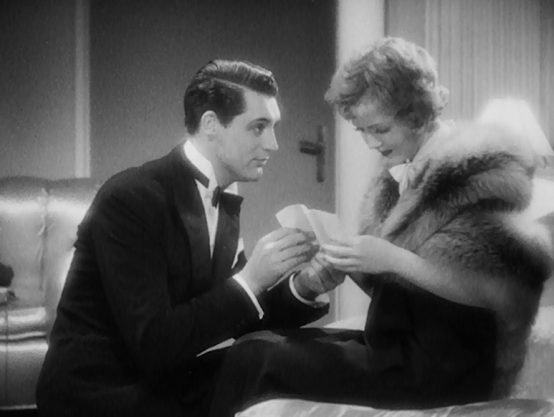 Cary Grant and Nancy Carroll