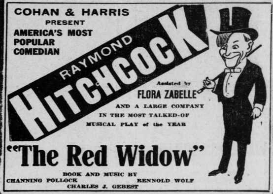 The Red Widow 1913