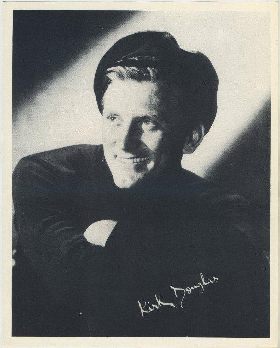 Kirk Douglas 1954 Star Pictures Premium