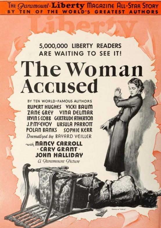 The Woman Accused 1933 trade advertisement