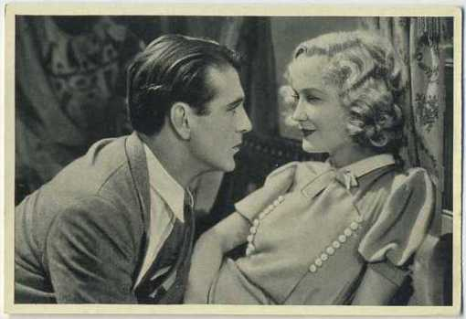 Gary Cooper and Miriam Hopkins 1940 A and M Wix Cinema Cavalcade